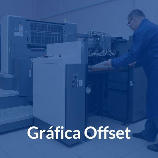 gráfica offset impressora e sistema para gestão